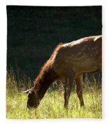 Elk Calf Fleece Blanket