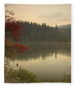 Elk Creek Reservoir Fleece Blanket