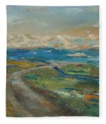 Elkhorn Slough Fleece Blanket
