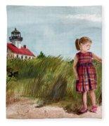 Ella At East Point Light Fleece Blanket