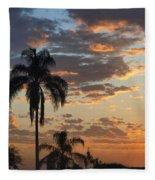 Ellery Sunrise Fleece Blanket