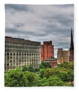 Ellicott Square Building     St. Joseph Cathedral     Prudential Guaranty Building Fleece Blanket