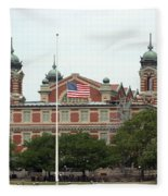 Ellis Island Fleece Blanket