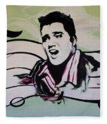 Elvis Fleece Blanket