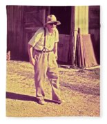 Elwood - Farmer Fleece Blanket