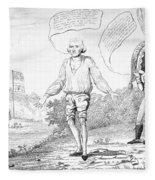 Embargo Repeal, 1809 Fleece Blanket