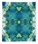 Emblem Of Another Era Fleece Blanket