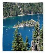 Emerald Bay Vertical Fleece Blanket