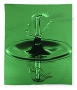 Emerald Umbrella Fleece Blanket