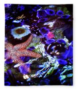 Emerged Starfish Fleece Blanket