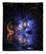 Emerging From The Depths Fleece Blanket