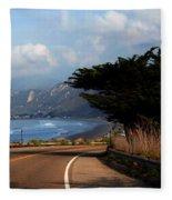 Emma Wood State Beach California Fleece Blanket