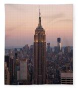 Empire Sunset Fleece Blanket