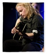 Emppu Vuorinen - Nightwish  Fleece Blanket