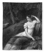 Empress Josephine Fleece Blanket
