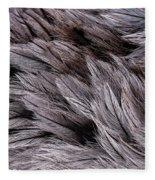 Emu Feathers Fleece Blanket