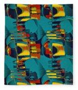 En Formes 02 Fleece Blanket
