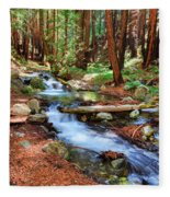 Enchanted Forest Fleece Blanket