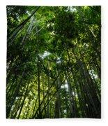 Enchanted Forest Haleakala National Park Fleece Blanket