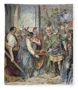 End Of Roman Empire Fleece Blanket