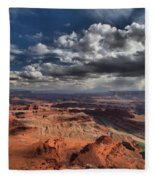 Endless Canyons Fleece Blanket