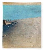 Endless Footprints Fleece Blanket