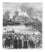 England: Boat Race, 1869 Fleece Blanket