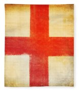 England Flag Fleece Blanket