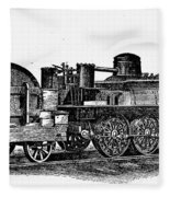 England: Locomotive, C1831 Fleece Blanket