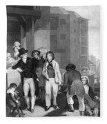 England: Merchant, 1800 Fleece Blanket