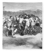 England: Rugby (1871) Fleece Blanket