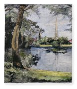 England: Salisbury Fleece Blanket