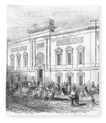 England: Theatre, 1843 Fleece Blanket