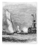 England: Yacht Race, 1843 Fleece Blanket