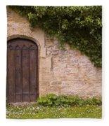 English Door And Ivy Fleece Blanket