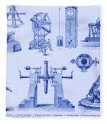 Engraving Of Historical Astronomy Fleece Blanket