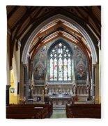 Ennis Cathedral Fleece Blanket