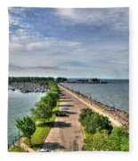 Erie Basin Marina Summer Series 0001 Fleece Blanket