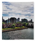 Erie Basin Marina Summer Series 0002 Fleece Blanket