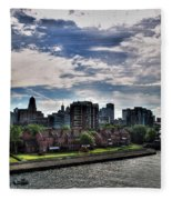 Erie Basin Marina Summer Series 0005 Fleece Blanket