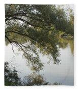 Erie Canal Turning Basin Fleece Blanket