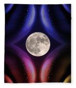 Erotic Moonlight Fleece Blanket