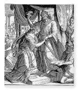 Esther & Ahasuerus Fleece Blanket