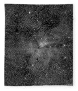 Eta Carinae Nebula, Cassini Image Fleece Blanket