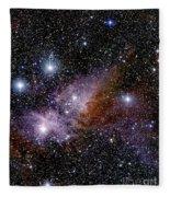 Eta Carinae Nebula, Infrared Image Fleece Blanket