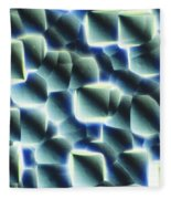 Etched Silicon Wafer Fleece Blanket