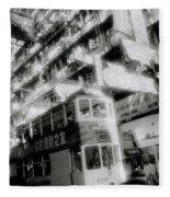 Ethereal Hong Kong  Fleece Blanket