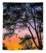 Eureka Sunset Fleece Blanket