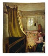 Evening Prayer  Fleece Blanket