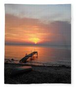Evening Rest Fleece Blanket